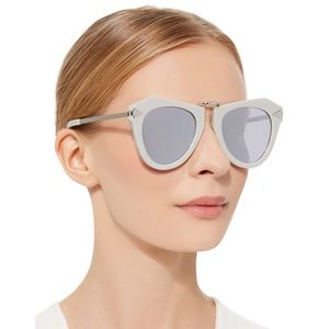 Karen walker Aviator arrow mirrored sunglasses